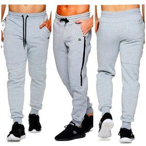 RBX Mens 3X Tapered Leg Jogger Sweatpants Gray